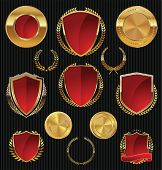 picture of medal  - Golden shields - JPG