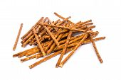 Salty Snack Sticks Isolated