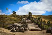 Stairs Leading Uphill