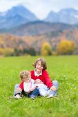 stock photo of three sisters  - Three Kids - JPG