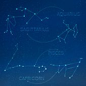 picture of pisces  - Zodiac - JPG