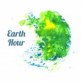 Illustration for Earth Hour