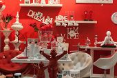 Furnishing And Accessories On Display At Homi, Home International Show In Milan, Italy