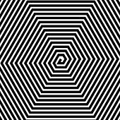 pic of psychodelic  - Abstract vector background with spiral with straight lines - JPG
