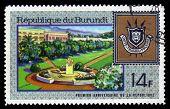 Coat Of Arms Republic Of Burundi