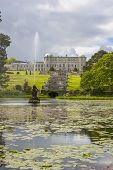 Fountain Of The Triton Lake At Powerscourt State In  Sniskerry, Ireland
