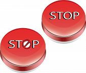 stop vector buttons