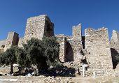Castle Bechin in Milas Turkey