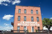 Wilmington,NC USA Oct 4- J.W. Brooks Wholesale Grocery
