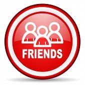 friends web icon