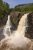 Spectacular Falls On A Sunny Day