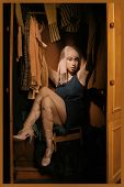 Woman In The Wardrobe