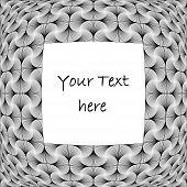 Design Monochrome Decorative Background For Text