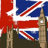 Grunge British Background