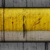 background paint yellow texture grunge old metal