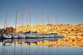 pic of piraeus  - Yachts in Mikrolimano marina in Athens - JPG