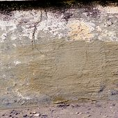 fragment old wall texture with showered paint