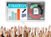 Business Strategy Marketing Concept