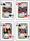 Four Jacks. Original design