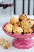 Cheddar, pancetta and spring onion muffins