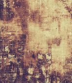 Vintage textured background. With different color patterns: yellow (beige); brown; purple (violet); black