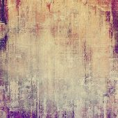 Old and weathered grunge texture. With different color patterns: yellow (beige); brown; purple (violet); pink