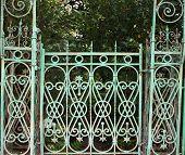 Elaborate Gate.