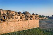 Sarkhej Roza Mosque In Ahmedabad, India