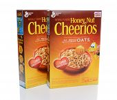 Two Boxes Honey Nut Cheerios
