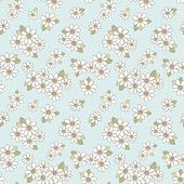 Adorable Flower Seamless Pattern