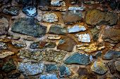 old wall stonework abstract background