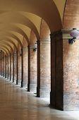 Colonnade in Urbino