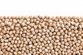 Chick Peas , Isolated