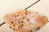 pic of home-made bread  - fresh home made sweet bread cake dessert just baked - JPG
