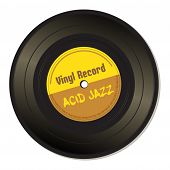 Acid jazz vinyl record