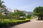 image of lantau island  - Apartment blocks in Lantau Island Hong Kong - JPG