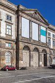 Natural History Museum of Porto University building in Gomes Teixeira Square. Porto, Portugal.