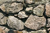 Background from stones