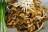 foto of thai food  - pad thai, stir thailand traditional of thai food ** Note: Soft Focus at 100%, best at smaller sizes - JPG