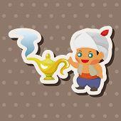 pic of aladdin  - Fairytale Aladdin Story Theme Elements - JPG