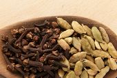 picture of cardamom  - Oriental spice - JPG