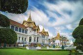 pic of royal palace  - Royal grand palace in Bangkok Asia Thailand - JPG