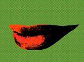 Sensual Smile Pop Art