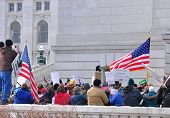 Patriotic Crowd