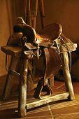 Authentic Cowboy Saddle