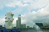 Statue Of Merlion, Singapore