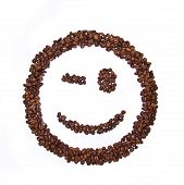 Smile Shaped Coffee Beans