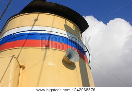 Russian Naval Ship Detail With