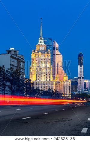 Hotel Ukraine And Moscow City