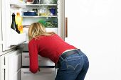 picture of bulimic  - home life - JPG